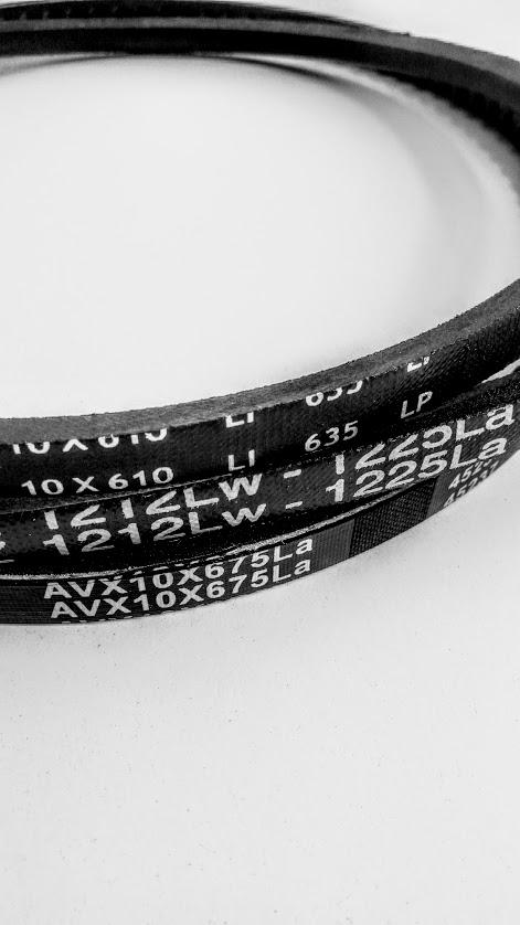 Základne označovanie klinových remeňov.