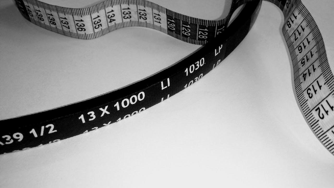 Ako zmerať dĺžku klinového remeňa ?