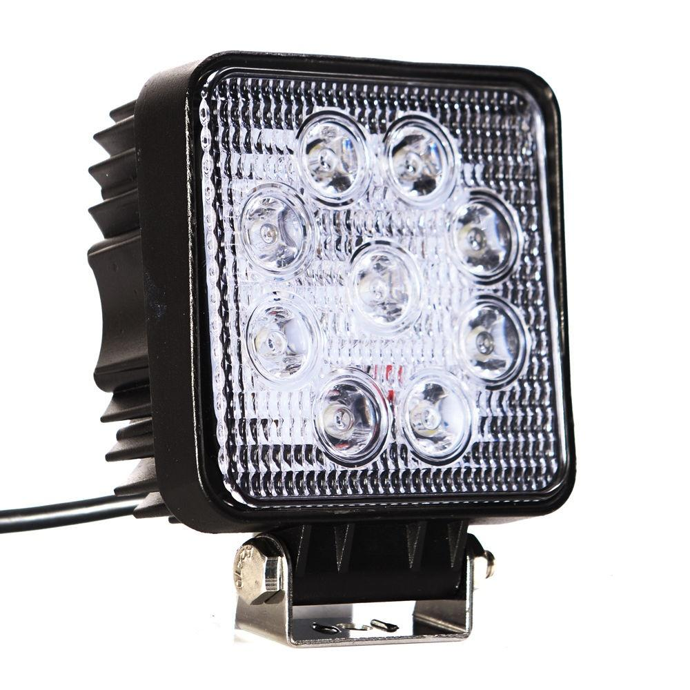 Pracovná LED lampa - hranatá