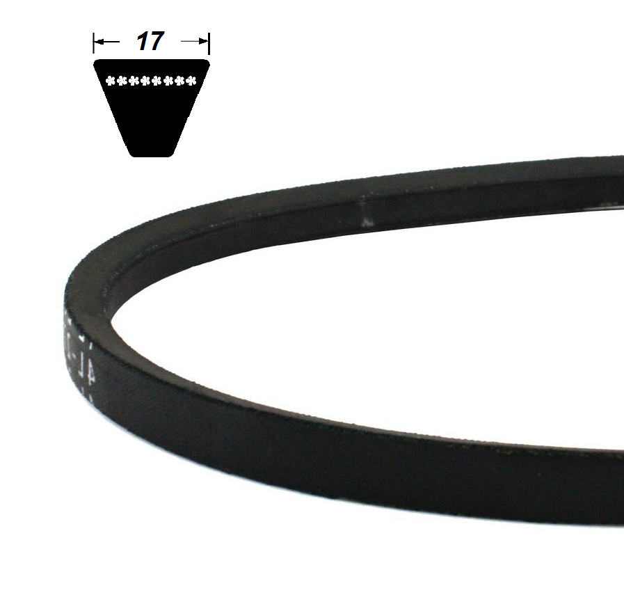Klinový remeň 17x1000 Power Belt